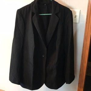 NWOT black Lane Bryant blazer size 18